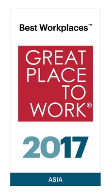 Great Place to Work® Names Best Workplaces in Asia
