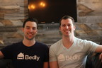 Bedly co-founders Ben Chester (L) and Martin Greenberg (R)