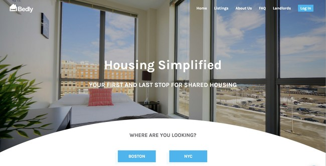 Bedly is housing simplified
