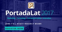 Portada has been the leading source of expert analysis on the US multicultural and Latin American marketing and innovation spaces since 2003. Network with Key Decision Makers from PepsiCo, 3M, Marriott, MasterCard, Hilton, Heineken, Brown-Forman and more at #PortadaLat, June 7-8, in Miami.