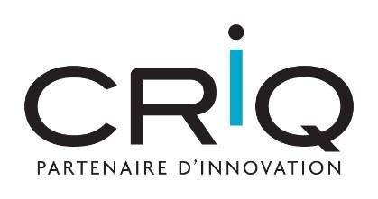 CRIQ logo (CNW Group/Centre de recherche industrielle du Québec)