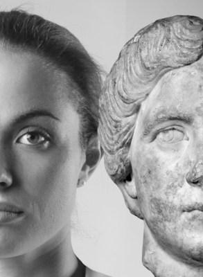 L'exposition Mon sosie a 2 000 ans, présentée au Musée de la civilisation en 2018. (Groupe CNW/Musée de la Civilisation)
