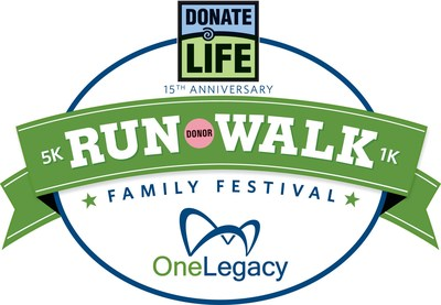 The Donate Life Run/Walk Celebrates 15 Years with Special Attendees, Donor Advocates
