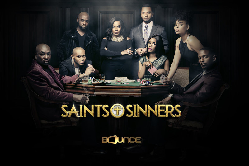 The second season of the hit Bounce drama series Saints & Sinners concludes this Sunday, April 23 at 9:00 p.m. ET/PT with an explosive season finale.  Saints & Sinners stars Vanessa Bell Calloway, Christian Keyes, Keith Robinson, Clifton Powell, J.D. Williams and Jasmine Burke.   Consumers can catch up on Saints & Sinners anytime on Brown Sugar, Bounce's new subscription-video-on-demand service. at www.BrownSugar.com  Bounce (@BounceTV) airs on the broadcast signals of local television stations