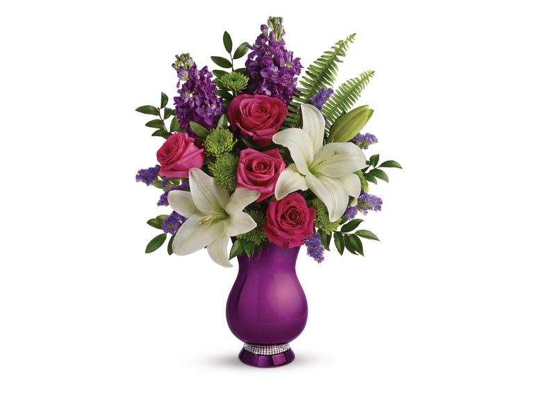 Teleflora's NEW Sparkle and Shine Bouquet for Mother's Day 2017