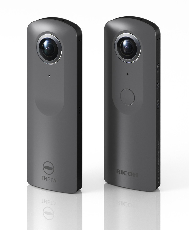 Ricoh will be showcasing a prototype of its newest Theta 360-degree camera, capable of capturing high-resolution 4K video in a single shot, at the upcoming 2017 NAB Show, April 24-27, in Las Vegas.