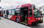 VIA Debuts New CNG Fleet that's Red on the Outside, 'Green' on the Inside