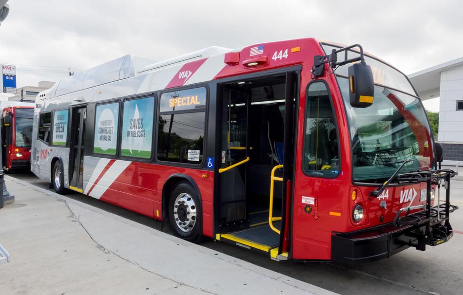(PRNewsfoto/VIA Metropolitan Transit)