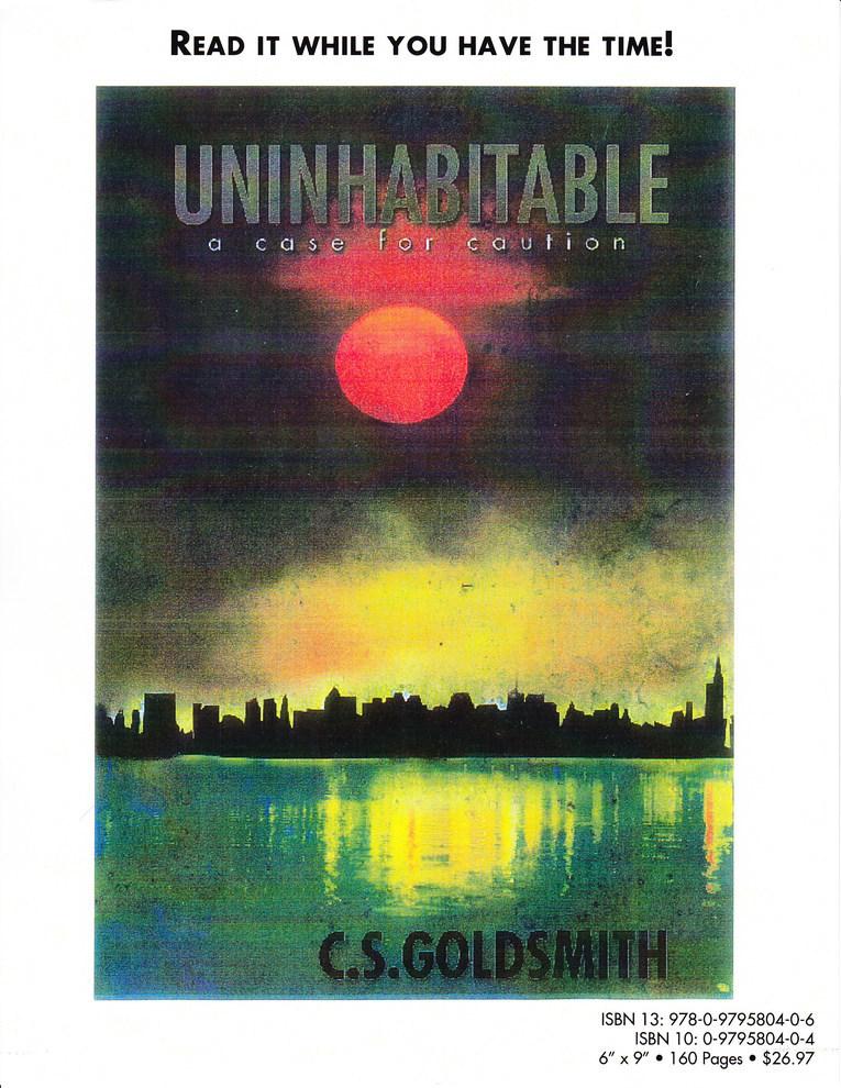 Author C.S. Goldsmith