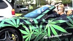 Marijuana Millionaire Celebrates 4/20 With a Surprise Gift of Giant Bags of Weed to 3 Lucky Social Media Fans in His Custom Ferrari