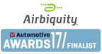 Airbiquity mit Software & Data Management als Finalist für TU-Automotive Awards 2017 aufgestellt