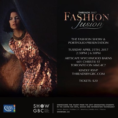 THREADS 2017 - Fashion fusion (CNW Group/George Brown College)