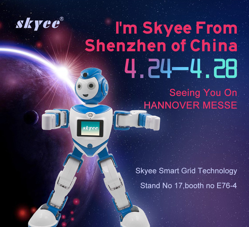 Chinese-made Robot Astronaut Skyee In Starring Role At This Year's Hannover Messe