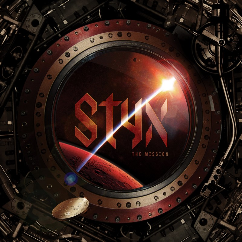 STYX's first studio album in 14 years, THE MISSION, set for liftoff Friday, June 16. Fans can pre-order the album at all online retail outlets and Styxworld.com.