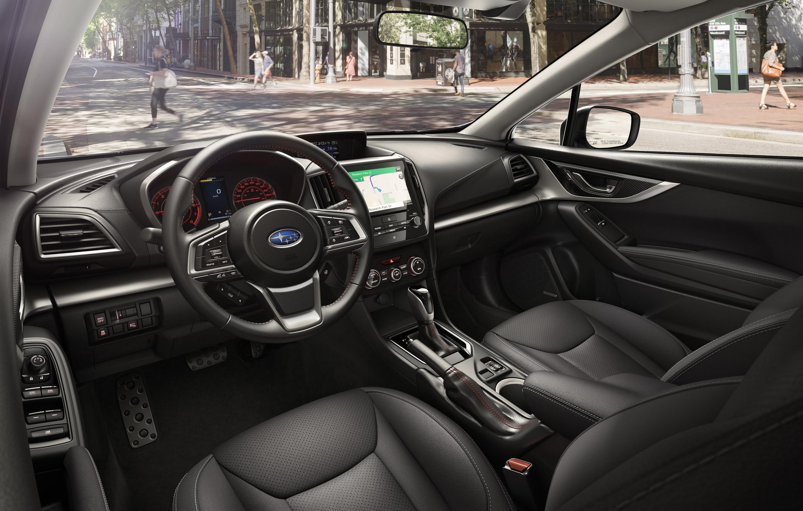 Cnw 2017 Subaru Impreza Earns Spot On Wards 10 Best Interiors List