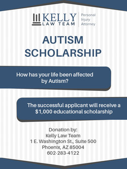 Autism Scholarship - Kelly Law Team