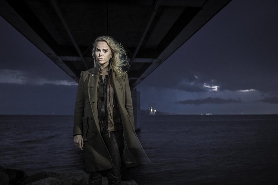 """Sofia Helin stars as Saga Norén in """"The Bridge"""""""