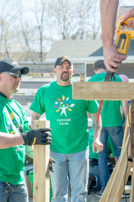 More Than 250 Volunteers Will 'Make Change Happen' At Four Project Sites In Vermont On 16th Comcast Cares Day