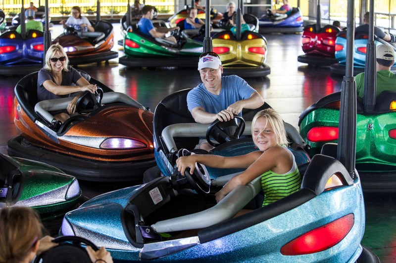 Take a crash course in family fun on Dodgem at Dorney Park!