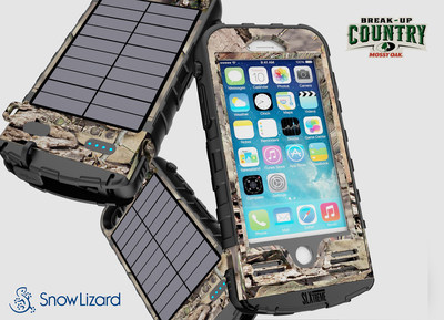 Mossy Oak' and SnowLizard unveil the SLXtreme 7 case for iPhone 7 in Break-Up Country' Camouflage Design