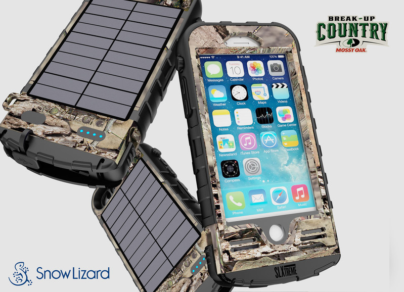 Mossy Oak and SnowLizard partner to create rugged iPhone 7 case for use in the wild.