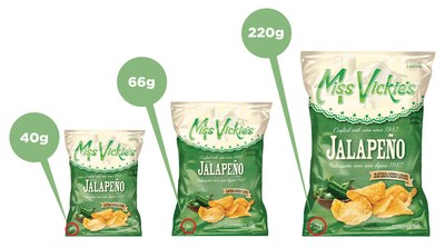 Jalapeño-flavoured Miss Vickie's® kettle cooked potato chips recalled due to potential presence ...
