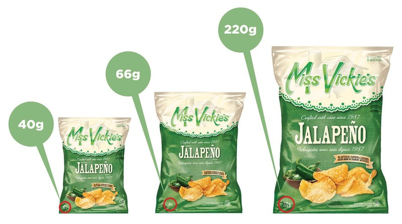 Jalapeño-flavoured Miss Vickie's® kettle cooked potato chips recalled due to potential presence of salmonella in seasoning recalled by supplier (CNW Group/PepsiCo Canada)