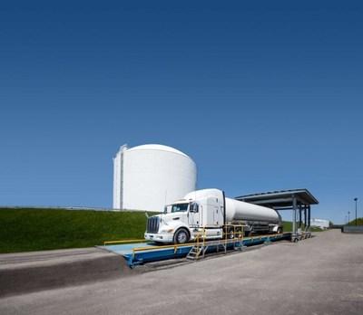 Gaz Métro's Montreal LNG plant. Source: Colpron (CNW Group/Gaz Métro)
