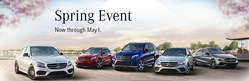 Mercedes-Benz of Arrowhead is hosting a spring sales event through the end of April.