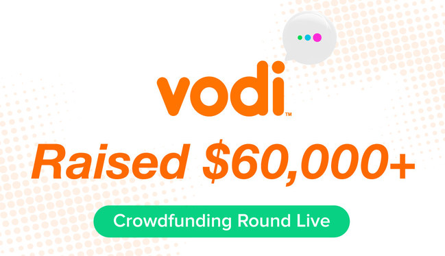 Vodi's Crowdfunding Round Has Reached $60,000+!