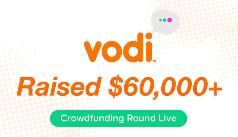 Vodi's Crowdfunding Round Has Reached $60,000+!