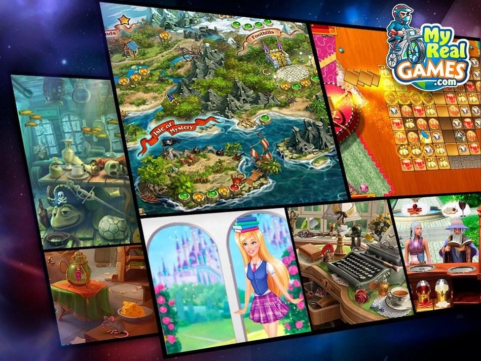 Free Games at MyRealGames