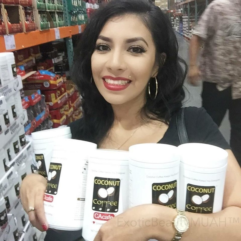 Beauty blogger Bella Moore is a loyal fan of CAcafe Coconut Coffee. She loves the delicious taste of real whole coconuts infused with premium Colombian coffee and raves that coconut coffee made her hair grow again, her skin more radiant, her nails stronger, and her person happier. CAcafe's coconut coffee and tea are now available as free samples via online request at www.cacafe.com/samples to residents of California while supplies last.