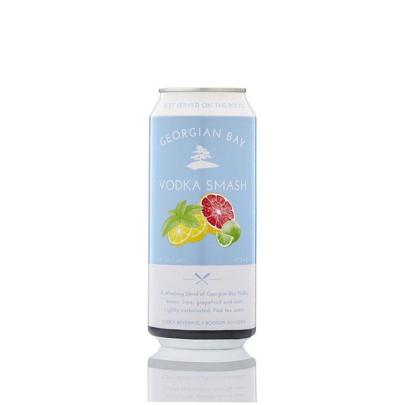 The new Vodka Smash from Georgian Bay Spirit Co. Available in LCBOs today. (CNW Group/Georgian Bay Spirit Co.)