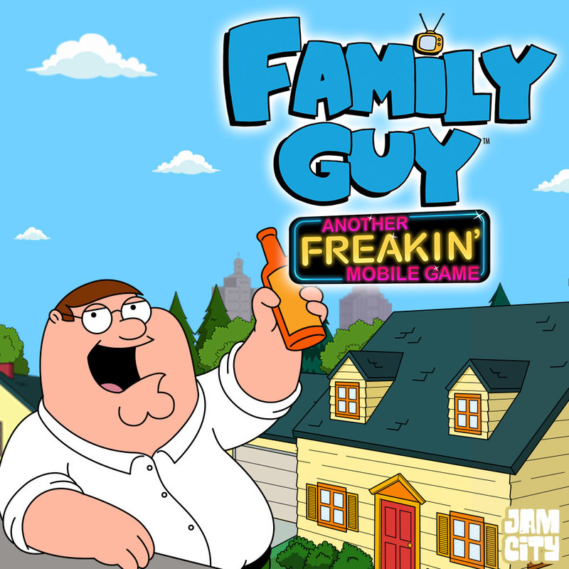 Jam City's Family Guy Another Freakin' Mobile Game