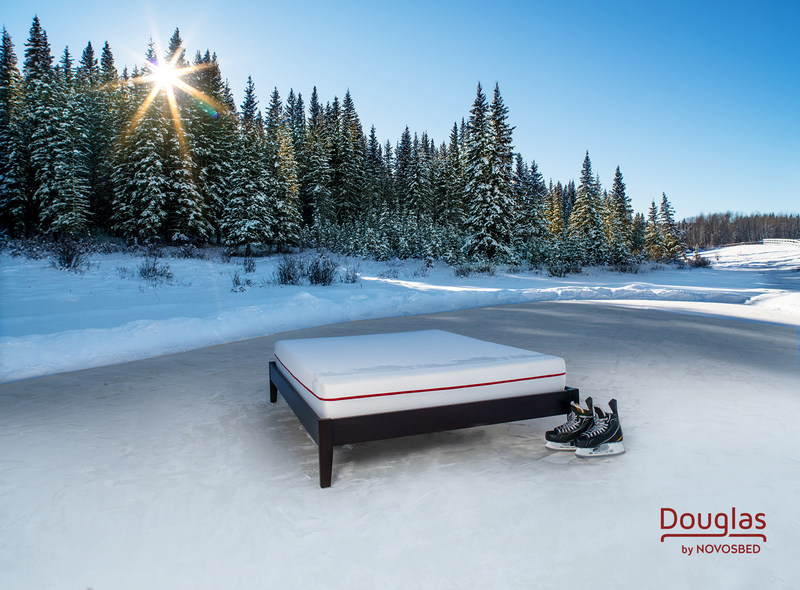 Douglas by Novosbed. Photographed near Canmore, Alberta, January 2017. (CNW Group/Douglas by Novosbed)