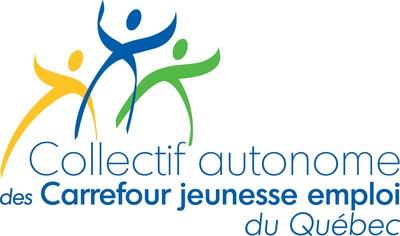 Logo: Collectif autonome des Carrefour jeunesse emploi du Québec (Groupe CNW/Collectif autonome des Carrefour jeunesse emploi du Québec)