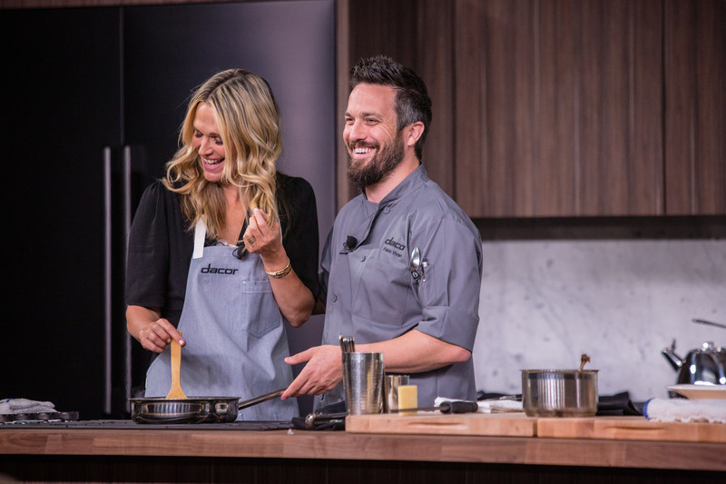 Fabio Viviani and Molly Sims at Dacor Dinnertime Meets Showtime, Pebble Beach Food & Wine