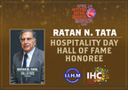Mr Ratan Tata Hall of Fame Honoree (PRNewsfoto/International Institute of Hotel)