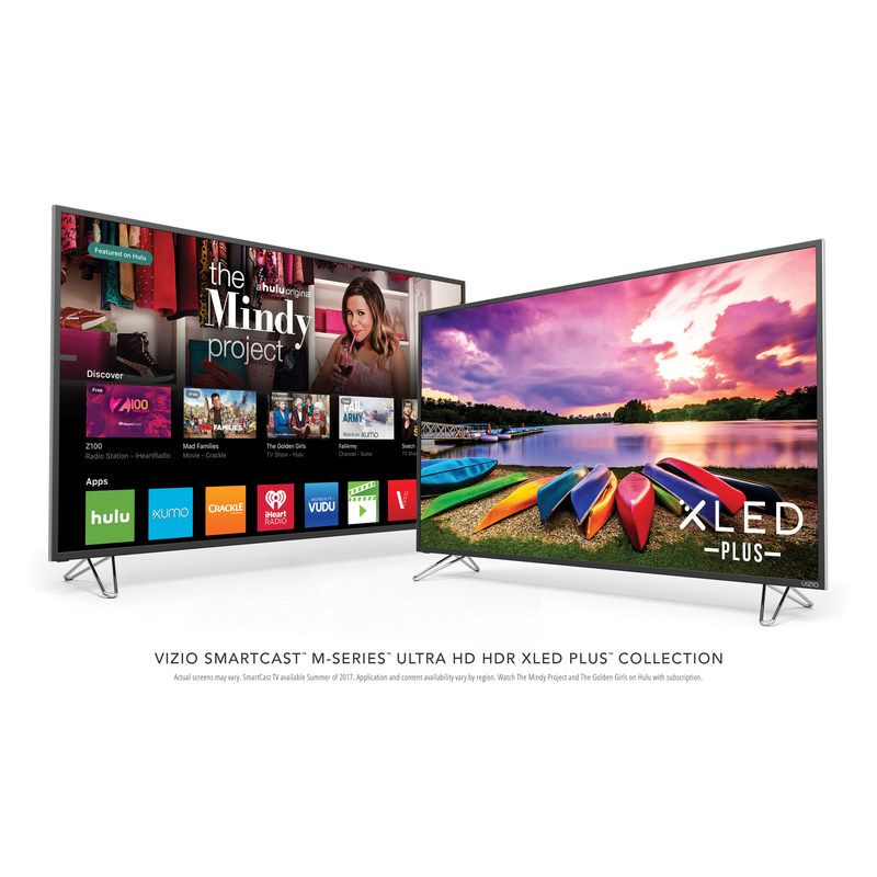 All-New VIZIO SmartCast M-Series™ Ultra HD HDR XLED Plus Display Collection Pushes the Boundaries of Picture Quality with Ultra Color Spectrum® Performance
