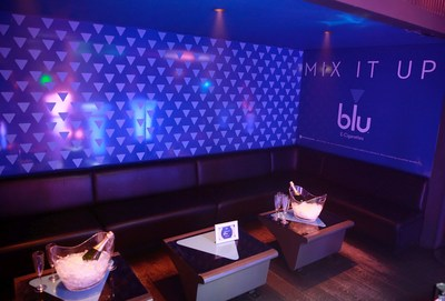 blu, e-vaping pioneers, and Ministry of Sound launched an ongoing partnership at the flagship London club on April 21, 2017 in London, England. (PRNewsfoto/blu)