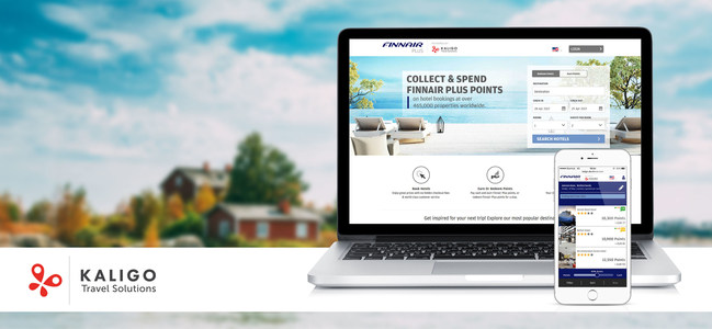 The new online hotel booking platform, launched by Kaligo Travel Solutions and Finnair, is now live at kaligo.finnair.com and opens up the largest hotel inventory available to members of Finnair Plus, for accrual and redemption of points for hotel bookings.