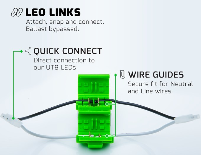 ULUXUS Launches ULUXUS Link LED Retrofit System for T12 & T8 fixtures