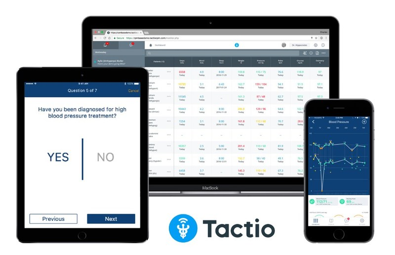 Tactio's app-enabled telehealth solution