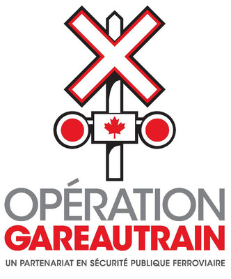 Logo : Opération Gareautrain (Groupe CNW/Opération Gareautrain)