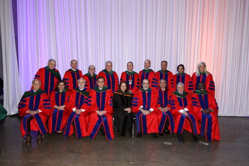 Dr Ernest Madu (seated first on the right) with other Distinguished Award Recipients at American College of Cardiology Convocation, Washington DC, March 19, 2017