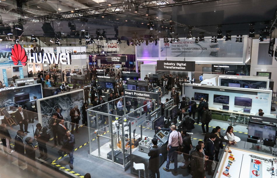 Huawei showcases latest ICT innovations with Partners at Hannover MESSE 2017