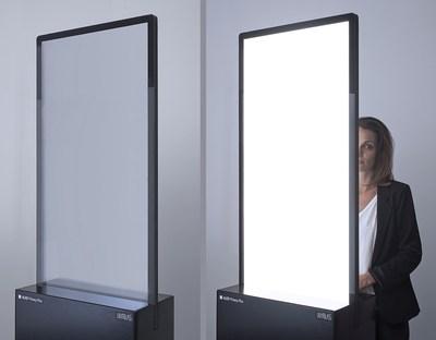 ALED Privacy-Plus Technology (C) LightGlass (PRNewsfoto/LightGlass Technology GmbH)