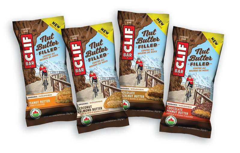 All-new CLIF Nut Butter Filled Energy Bar now available in Canada. (CNW Group/Clif Bar & Company)