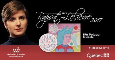 Prix Rapsat-Lelièvre 2017 (Groupe CNW/Ministère de la Culture et des Communications)